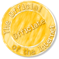 The Official Officiate of the Internet's Seal